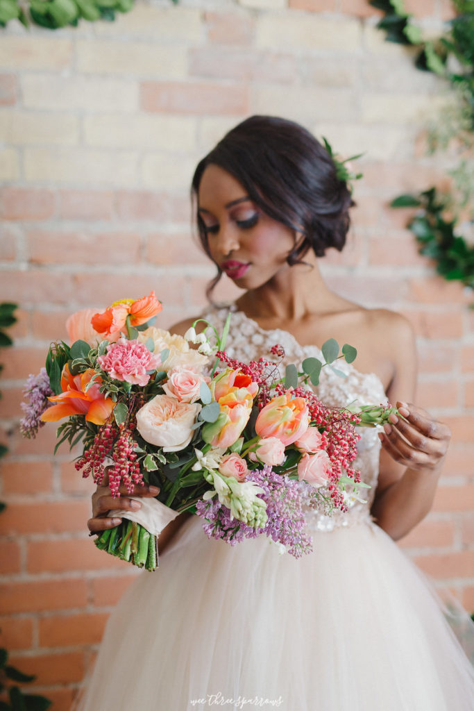 Beautiful Bridal Bouquet Hamilton Ontario Toronto Niagara Wedding Florist Elegant