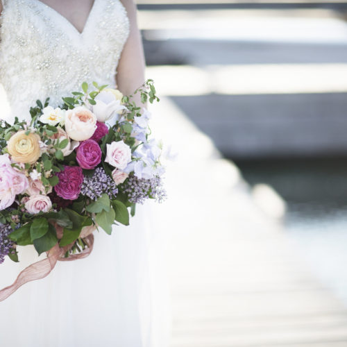 Beautiful and Elegant Spring Bridal Bouquet