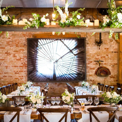 Set-up and delivery of your wedding flowers
